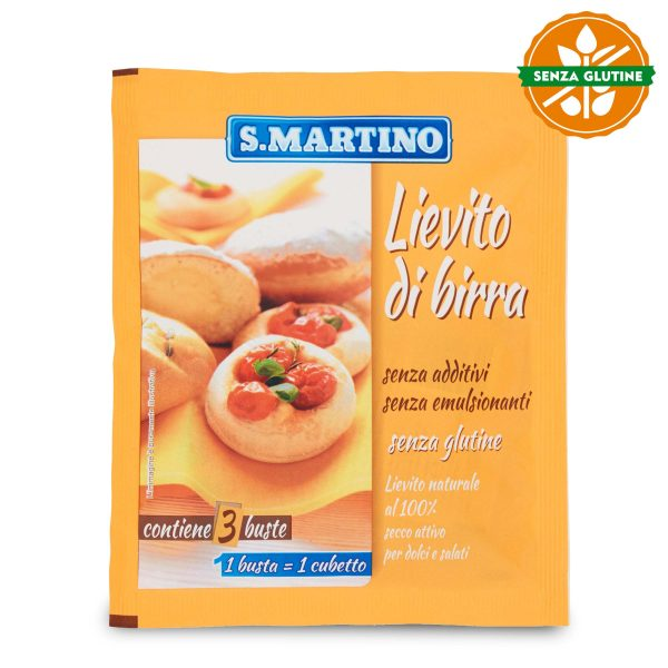 Lievito di birra 3 buste 30g S.Martino