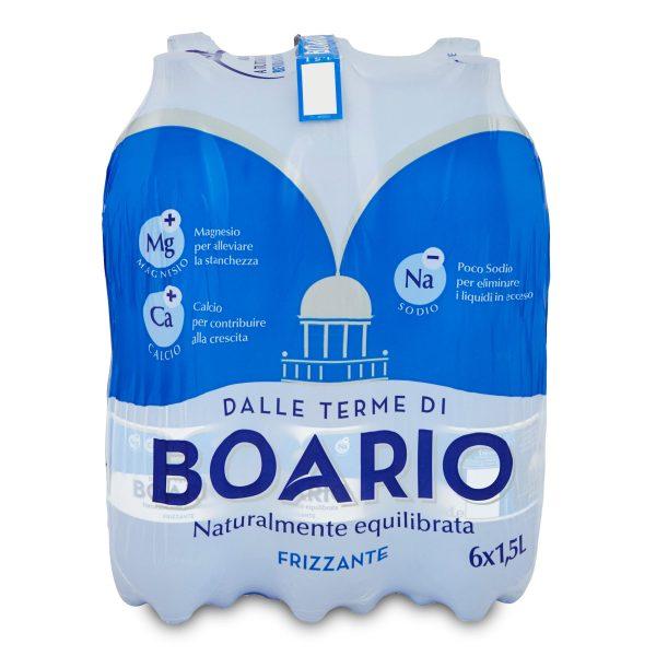 Acqua Boario frizzante 1,5Lx6