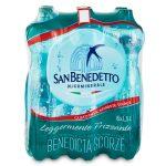 Acqua San Benedetto leggermente frizzante 6x1,5L