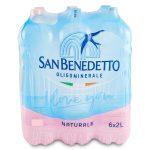 Acqua San Benedetto naturale 6 x 2L