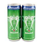 Birra Heineken sleek can 33clx2