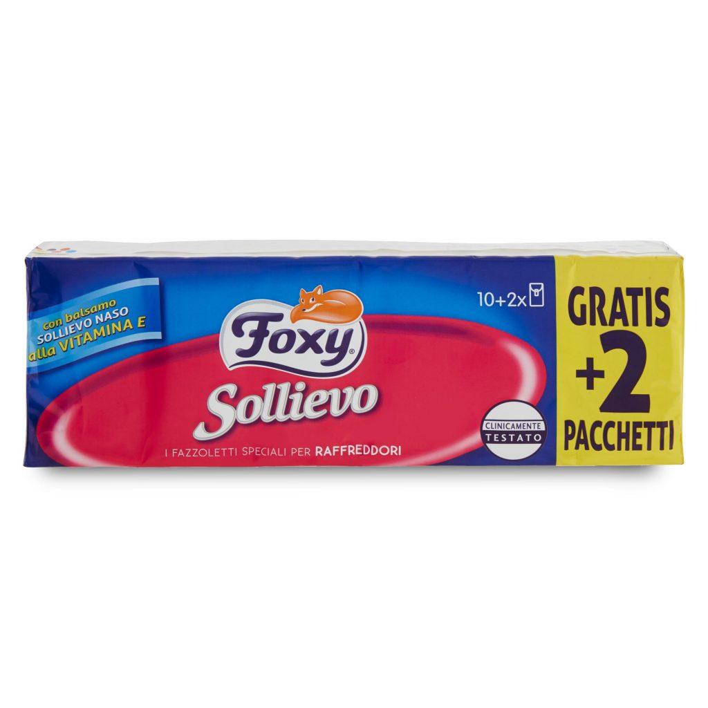 scarpe da ginnastica acquista per originale a caldo Fazzoletti sollievo Foxy 10+2 4 veli con vitamina E - D'Ambros Ipermercato