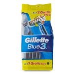 Rasoio blue 3 usa & getta x4 Gillette