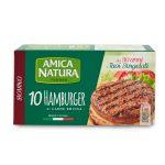 Hamburger bovino 10 pezzi 750g Amica Natura