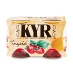 Yogurt Kyr fragola 125gx2