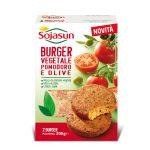 Burger vegetale pomodoro e olive 2x100g Sojasun