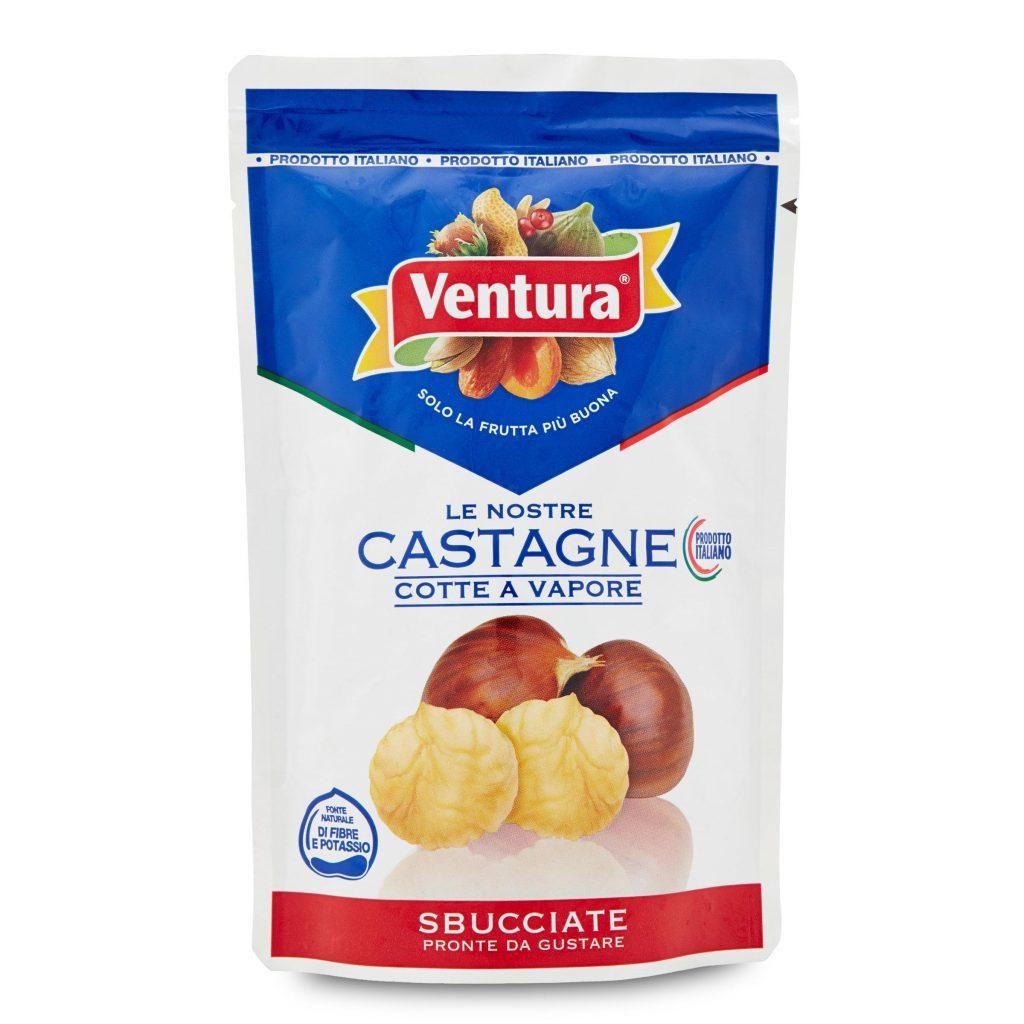 Castagne cotte a vapore sbucciate 100g Ventura - D\'Ambros Ipermercato