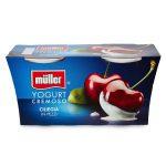 Yogurt ciliegia a pezzi 125gx2 Muller