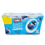 Yogurt 0% grassi con mirtillo a pezzi 2x125g Muller