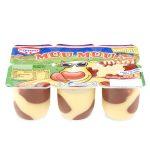 Budino alla vaniglia con macchie gusto cioccolato 6x50g Muu Muu Cameo