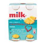 Milk Ananas confezione da 4 bottigliette 400g aiuta a ridurre il colesterolo