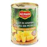Ananas a cubetti in succo senza aggiunta di zucchero 350g Del Monte