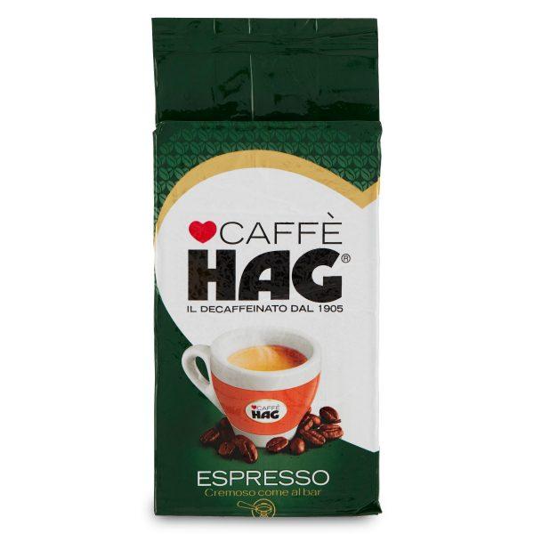 Caffè espresso decaffeinato naturale 250g Hag