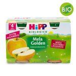 Omogeneizzato BIO mela golden 2x125g Hipp