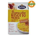 Risotto alla milanese 210g Scotti senza glutine