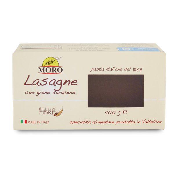 Lasagne con grano saraceno 400g Moro