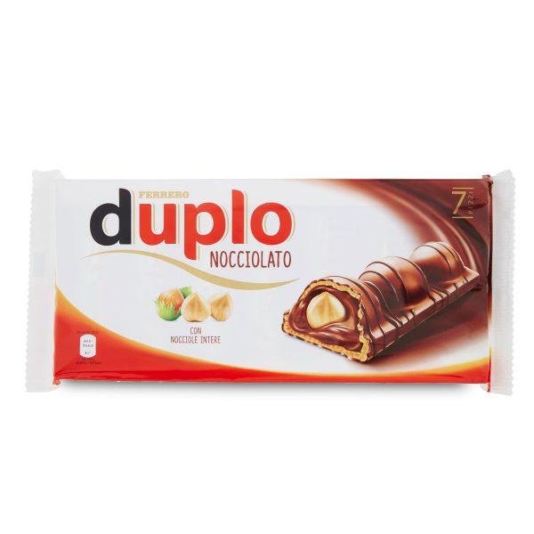 Duplo nocciolato con nocciole intere 7 barrette 182g Ferrero