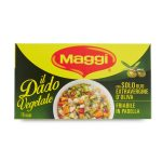 Dadi gusto vegetale 10 pezzi 100g Maggi