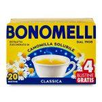 Camomilla solubile 20 filtri + 4 gratis 100g Bonomelli