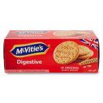 Biscotti digestivi di frumento con farina integrale 400g Mc Vitie's