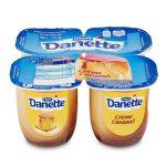 Danette al creme caramel 4x125g Danone