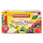 Infuso frutti misti solo vera frutta 20 filtri Pompadour