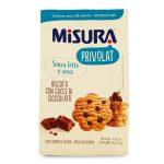 Biscotti con gocce di cioccolato Privolat 290g Misura
