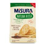 Cracker natura ricca ai cereali quinoa e semi di chia 230g Misura