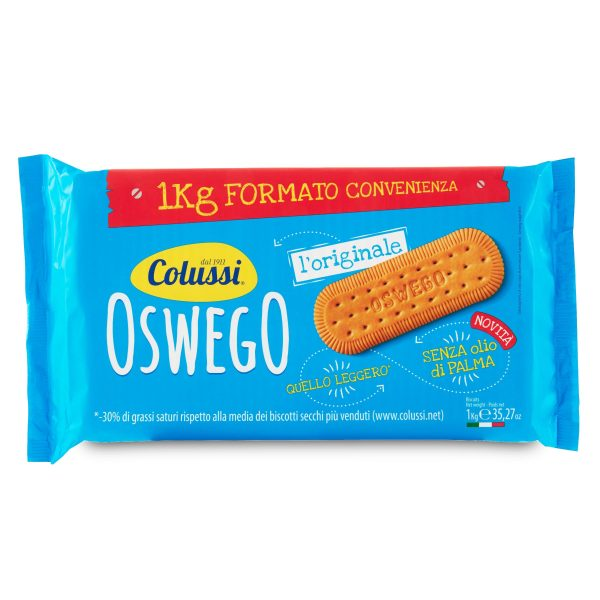 Biscotti Oswego 1Kg Colussi