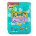 Pannolini Pampers Baby Dry Junior taglia 11-25kg 17 pezzi