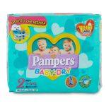 Pannolini Pampers Baby Dry Mini taglia 3-6kg 24pezzi