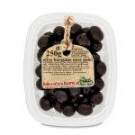 Olive nere baresane dolci 250g in vaschetta