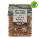 Pasta penne rigate integrali BIO 500g Sgambaro