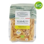 Penne rigate n°91 trafilate in bronzo al kamut Bio 500g Sgambaro