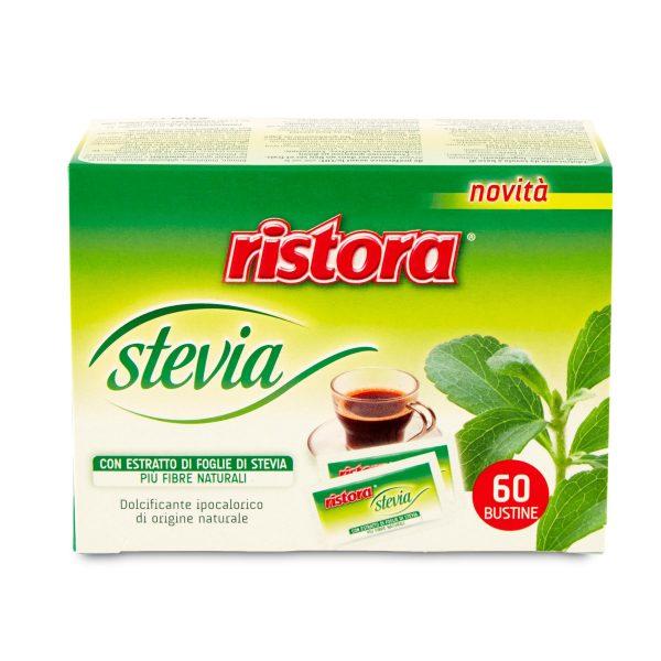 Dolcificante stevia 60 bustine Ristora