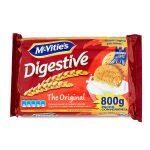 Biscotti di frumento con farina integrale 800g Mc Vitie's Digestive