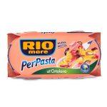 Per pasta all'ortolana con tonno,pomodorini,melanzane, zucchine e olio extra vergine 2x160g Rio Mare