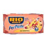 Per pasta alla salentina con tonno, pomodorini, olive nere e olio extra vergine 2x160g Rio Mare