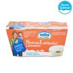 Yogurt intero senza lattosio bianco 2x125g Mila