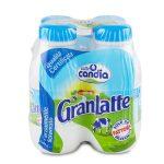 Gran latte parzialmente scremato 4 bottiglie da 50cl Candina