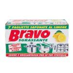 Bravo 7 pagliette sgrassante
