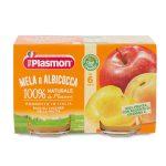 Omogeneizzato albicocca e mela 2x104g Plasmon