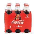 Coca cola bottiglia vetro 6 pezzi da 20cl