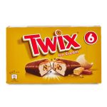 Twix Ice - 6 barrette alla crema mou 205,2g