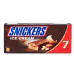 Snickers ice cream 7 barrette 336g Mars