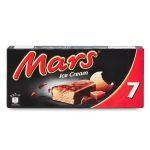 Mars Ice Cream 7 barrette Family pack