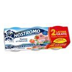 Tonno al naturale 80gx4 + 2 omaggio Nostromo