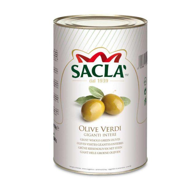 Olive verdi snocciolate latta 4,1kg