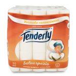 Carta igienica 30 rotoli Tenderly salvaspazio