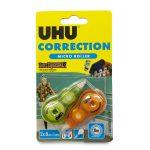 Correttore roller micro 2 pezzi UHU
